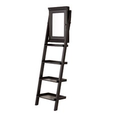 Carruthers Storage Ladder Jewelry Armoire