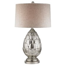 """Artichoke 29"""" H Table Lamp with Drum Shade"""