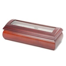 Lyveryche Glass Top Watch Box