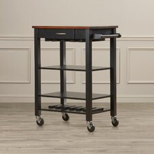 Wolfgang Kitchen Cart with Butcher Block Top