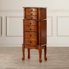 Nysell Jewelry Armoire with Mirror