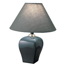"""Keriell Meinhardt 15"""" H Table Lamp with Empire Shade"""