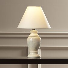 "Ira 15"" H Table Lamp with Empire Shade"