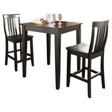 Bagwell 3 Piece Pub Table Set