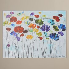 """Spring Color"" Wrapped Canvas Print"
