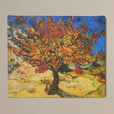 'Mulberry Tree' by Vincent Van Gogh Painting Print on Canvas