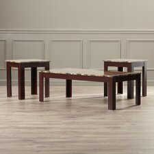 Colmer 3 Piece Coffee Table Set