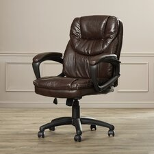 Musgrove High-Back Managers Chair with Padded Arms