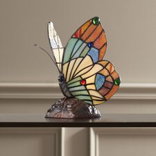 "Lucasta Butterfly 10"" H Table Lamp"