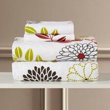 Lodyngton Floral Extra Deep Pocket Flannel Sheet Set