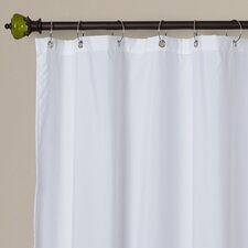 Rawles Microfiber Fabric Shower Curtain