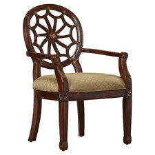 Lucinda Lenton Spider Web Fabric Arm Chair