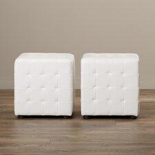 Kinton Cube Ottoman (Set of 2)