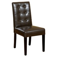 Evendale Leather Dining Chairs (Set of 2)