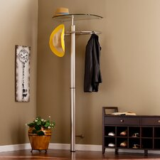 Bainbridge Anywhere Accessory Storage Wall Mounted Coat Rack