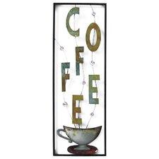 Coffee with Mug Wall Decor
