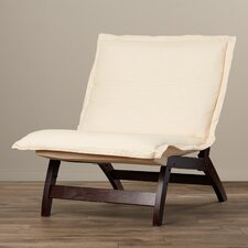 Casual Fabric Lounge Chair