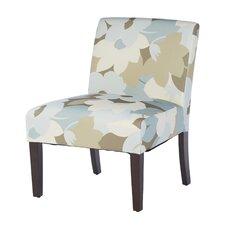 Patterned Slipper Chair