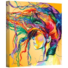 'Windswept' Painting Print on Canvas