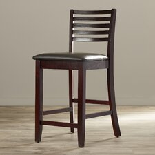 "Bonifay24"" Bar Stool with Cushion"