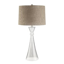 """Alvira 31"""" H Table Lamp with Drum Shade"""