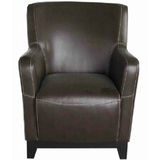 Accent Chair in Faux Leather