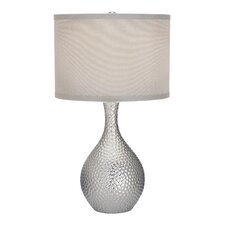 "Nicolette 21.5"" H Table Lamp with Drum Shade"