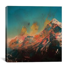 Mountain Splash by Andreas Lie Painting Print on Wrapped Canvas