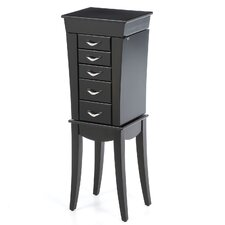 Boll Jewelry Armoire with Mirror