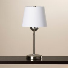 Dual Function Swing Arm Table Lamp with Empire Shade