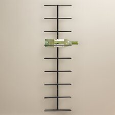 Elton 9 Bottle Wall Mounted Wine Rack