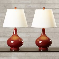 "Albert 24"" H Table Lamp with Empire Shade"