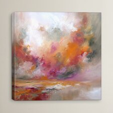 Colour Burst by JA Art Painting Print on Wrapped Canvas