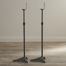 Clarksville Adjustable Height Speaker Stand (Set of 2)