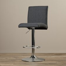 St. Werburghs Adjustable Height Swivel Bar Stool with Cushion