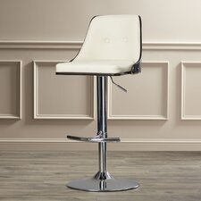 Apollo Adjustable Height Swivel Bar Stool with Cushion