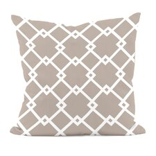 Bo Geometric Throw Pillow