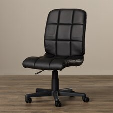 Ceil Adjustable Mid-Back Quilted Office Chair