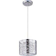 Inca 1 Light Pendant with LED Bulb