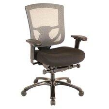Adjustable High-Back Mesh Office Chair
