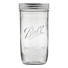Ball 24-Ounce Wide Mouth Pint Jar (Set of 9)