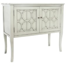 2 Drawer Console Table in Gray