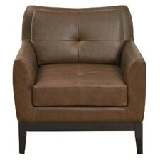 Accent Chair With Wood Detail