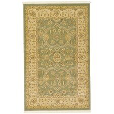 Heritage Light Green Area Rug
