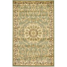 Versailles Light Green Area Rug
