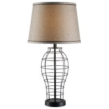 """Dresser 29"""" H Table Lamp with Empire Shade"""