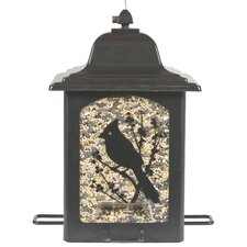 Birds & Berries Lantern Decorative Bird Feeder