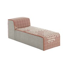 Pink chaise lounge chairs wayfair for Chaise candie life