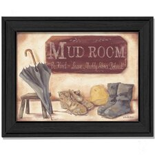 Muddy Shoes by Pam Britton Framed Painting Print
