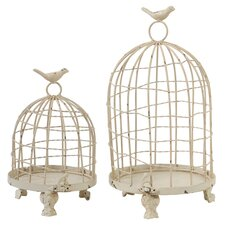 2-Piece Orla Birdcage Set in Cream